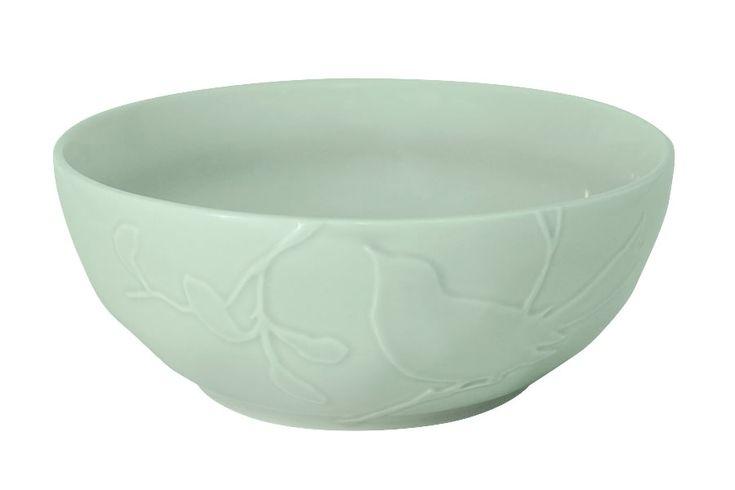 Салатник «Птицы» (зеленая)      Бренд: SantaFe (Испания);   Страна производства: Китай;   Материал: керамика;   Диаметр: 23 см;          #керамика #сервировка #стола #ceramics #table #setting #салатник