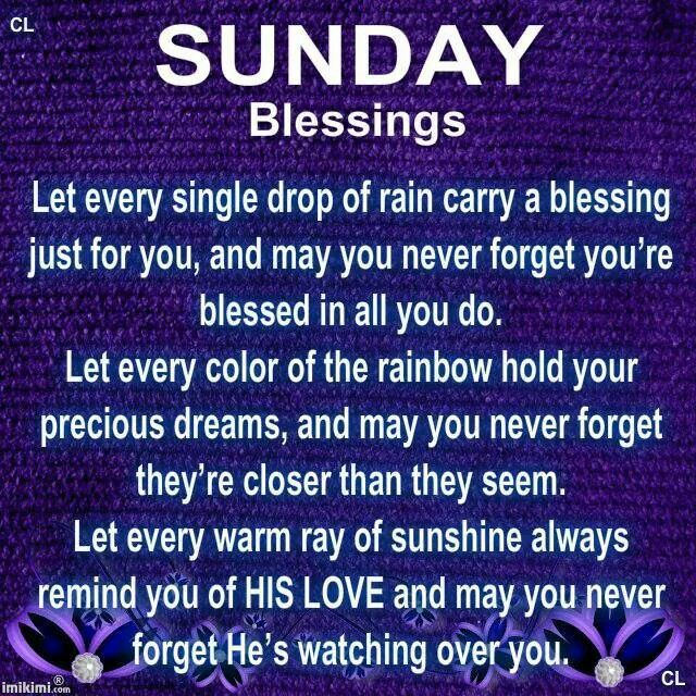 Sunday Blessings Quotes   www.imgkid.com - The Image Kid ...