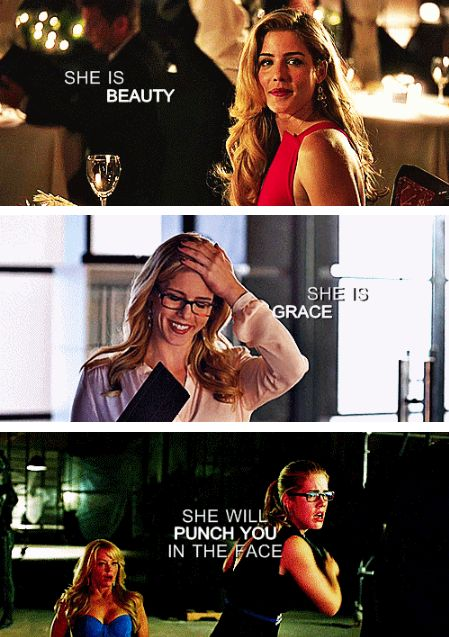 Felicity Smoak <3 Our queen <3