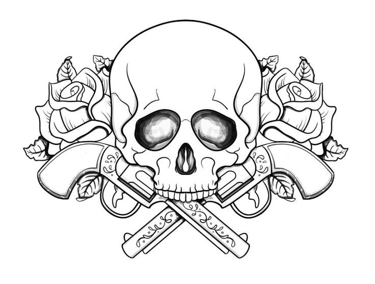 15 Best SUGAR SKULL COLORING PAGES Images On Pinterest