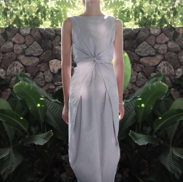Wrap waist sheath dress via Le sisters. Click on the image to see more!