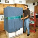 Major Appliances: Not everyone brings their major appliances with them when they move. But, if you are, they may be easier to pack and move than you think. Simply cover them with a protective pad then wrap them with plastic wrap to ensure the doors don't fly open during transit. Use an appliance dolly to get them onto the truck, then use rope or straps to securely tie them to the side of the truck.