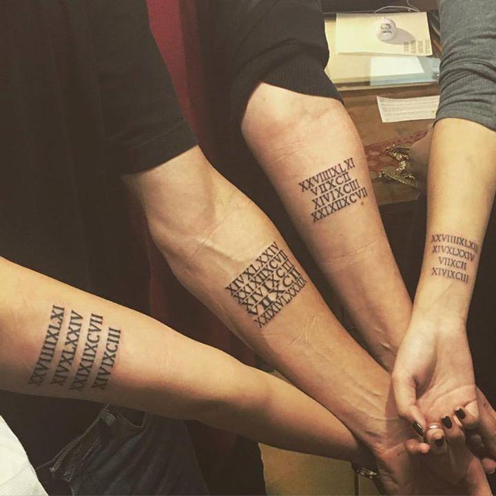 Les 25 meilleures id es concernant tatouage de chiffres - Tattoo chiffre ...