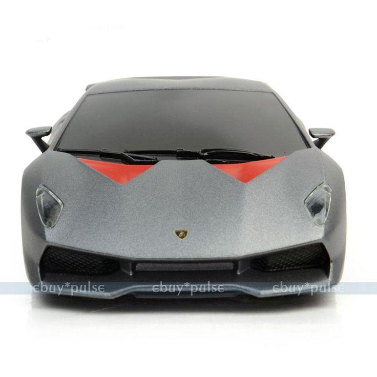 Like a Gentleman. Rastar 1:24 Lamborghini Sesto ELEMENTO Toy Gift RC Radio Control Car Model Grey #Rastar