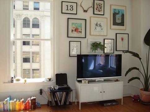 art wall + tv