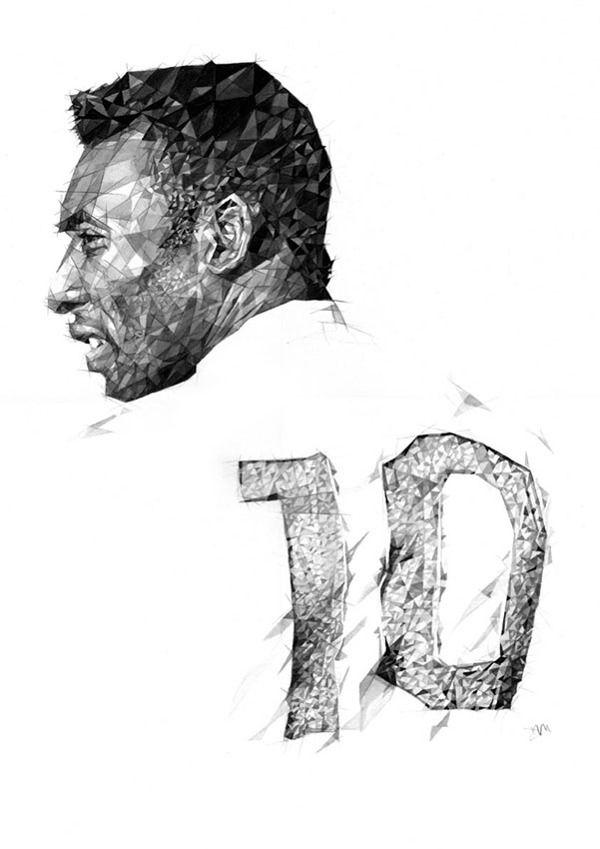Pele by Dave Merrell