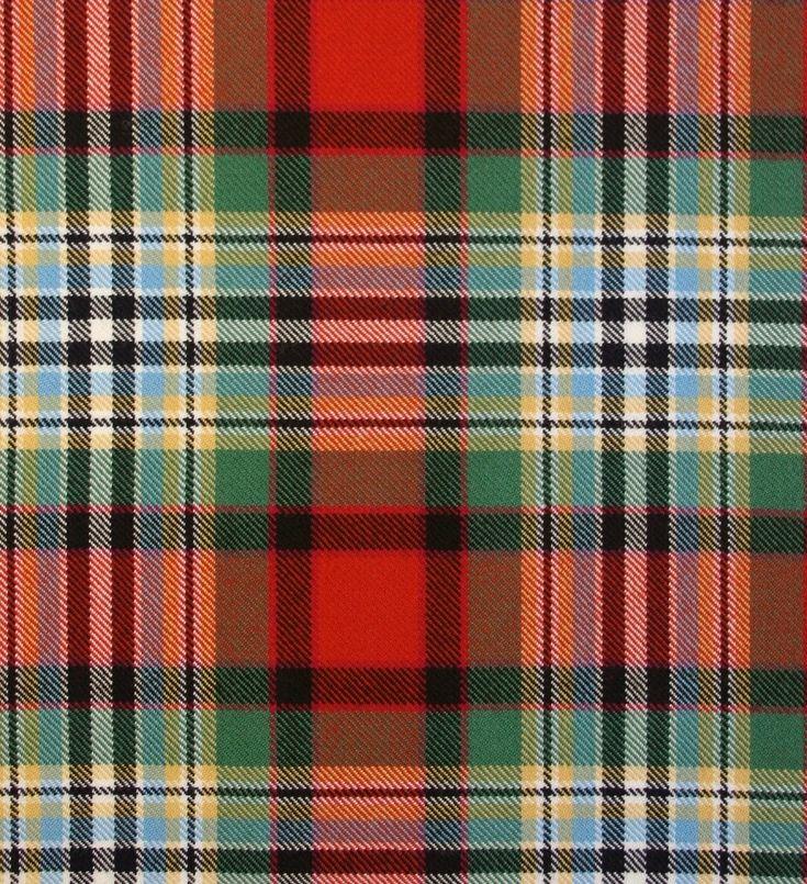 Dundee Old Ancient Heavy Weight Tartan Fabric | Lochcarron of Scotland