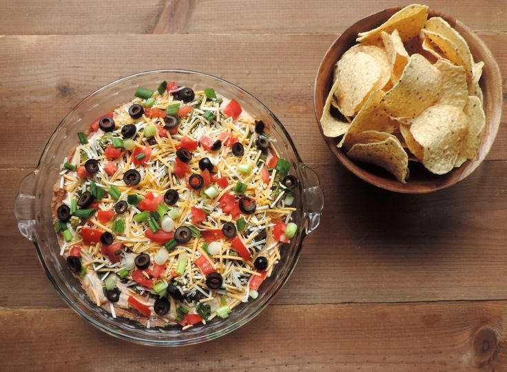 Mexican 7 Layer Dip - Smell Good Kitchen
