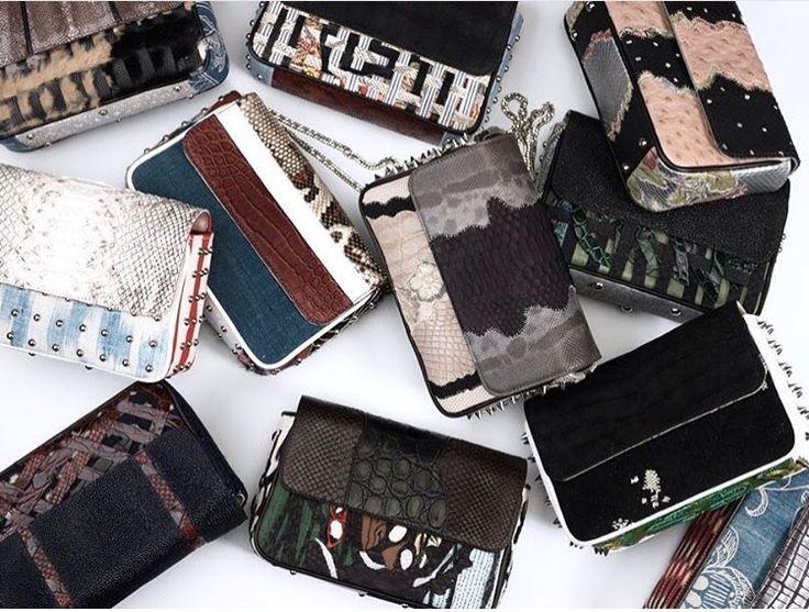@maisonravn  Which one to pick. Wish wish wish...  #maisonravn #handbags #unique #handcrafted #incomparable #luxury #babyravn #maisonravn #paris #geneve #style #christmas #gift