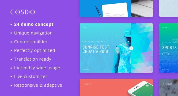 Cospo – Creative Multi-purpose WordPress Theme. Fullview: https://themeforest.net/item/cospo-creative-multipurpose-wordpress-theme/15995281?ref=thanhdesign
