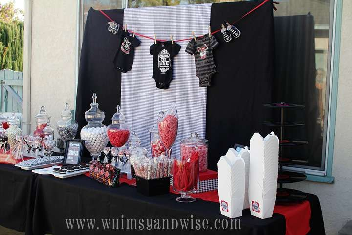 Rock-a-Bye Baby Shower Baby Shower Party Ideas   Photo 1 of 21   Catch My Party