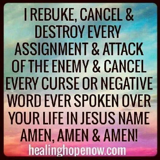 """""""No weapon that is formed against thee shall prosper"""" Isaiah 54:17! I rebuke…"""
