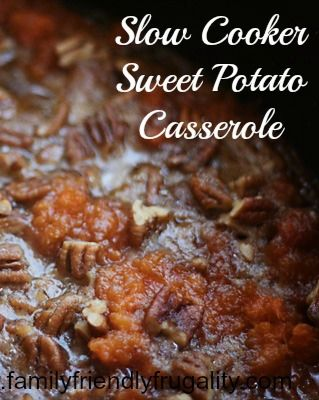 Throw this in the slow cooker and your house will smell like Thanksgiving and heaven.