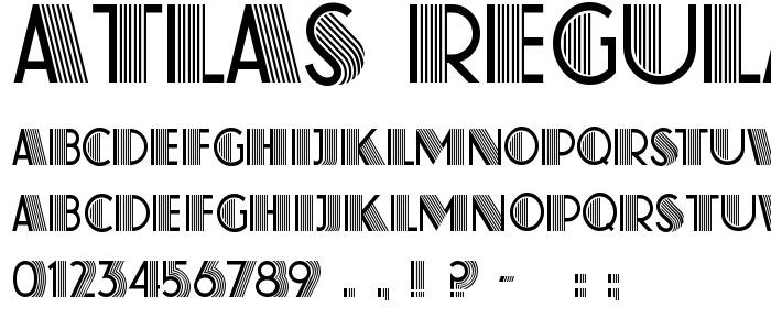 Font - Atlas Regular - Great Gatsby movie Font | Old Hollywood ...