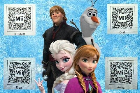 1000 images about mii qr codes on pinterest qr codes elsa and and