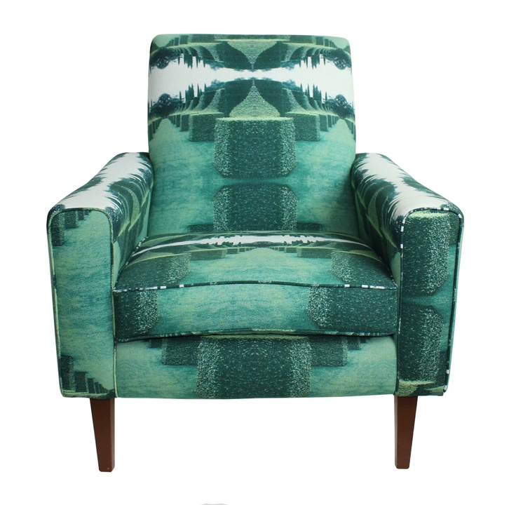 EDIT armchair in 'Hedges' Fabric