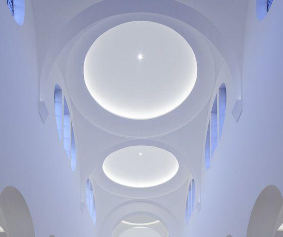Church of St Moritz refurbishment by John Pawson Architects (UK)