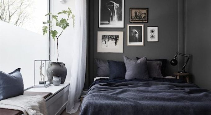 Dark And Bold Small Bedroom Ideas Small Bedroom Designs Modern Bedroom Furniture Sets Small Bedroom Small bedroom ideas dark