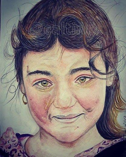 Mülteci kız