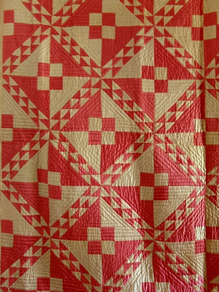 Vintage 1930s Sateen Linton Pathway Variation Quilt Old Hollywood Glam Pink