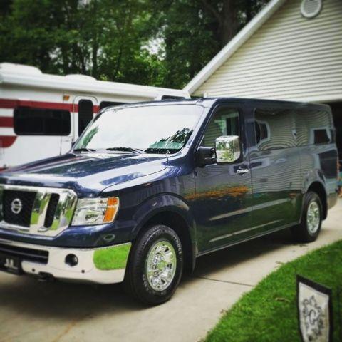 Nissan Nv Passenger >> Nissan NV passenger van. Busy HomeGrown Kids: Our people ...