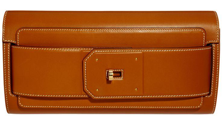 Hermès clutch, $8,050, 800-441-4488.   - HarpersBAZAAR.com
