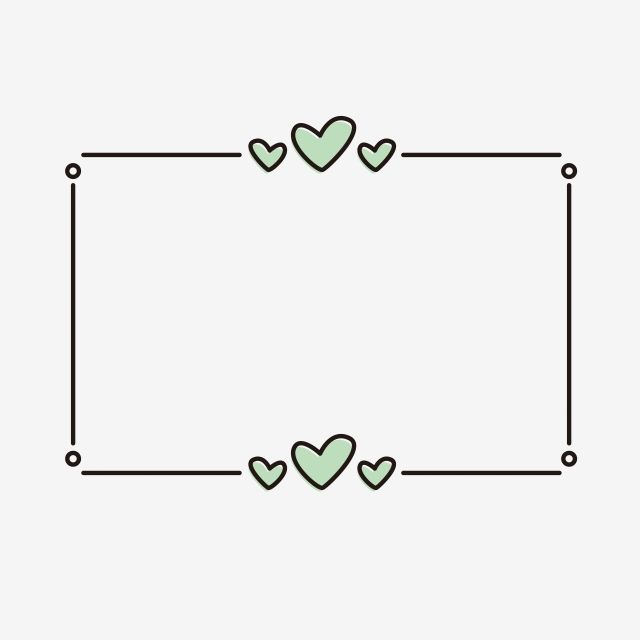 Creative Border Simple And Natural Love Heart Shape Graffiti Frame Beautiful Texture Cute Cartoon Border Frame Png And Vector With Transparent Background For Bullet Journal Books Bullet Journal Ideas Pages Bullet