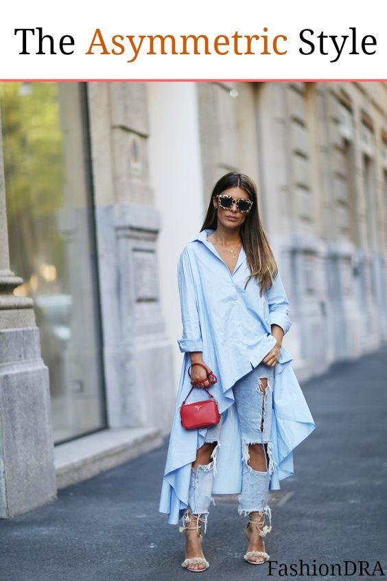 FashionDRA   Fashion Style : The Asymmetric Style