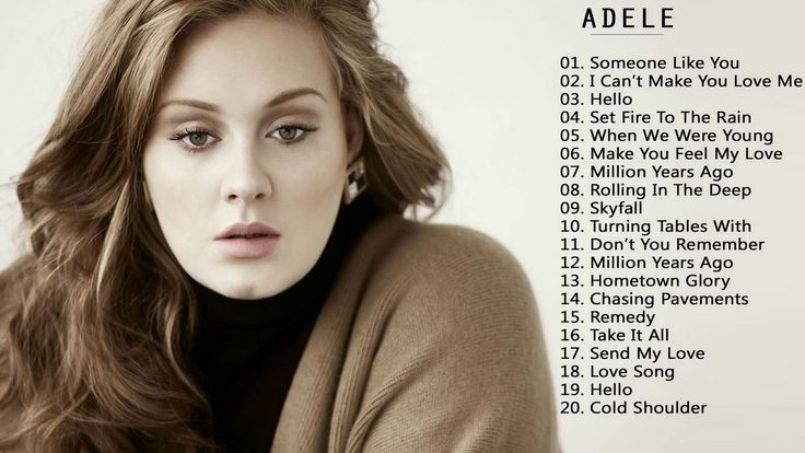 List of songs recorded by Adele - Wikipedia