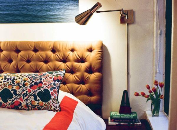 diy bett kopfteil schlafzimmer einrichtung komfort - Aquarium Kopfteil Diy