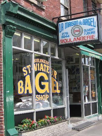St-Viateur Bagel 263 Rue Saint Viateur Ouest, Montréal, QC H2V 1Y1 - best bagels in MTL for .75 cents each
