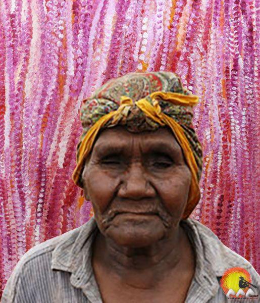 Australian Aboriginal Artist Kathleen Ngala #aboriginalart #aboriginalpainting #australianart