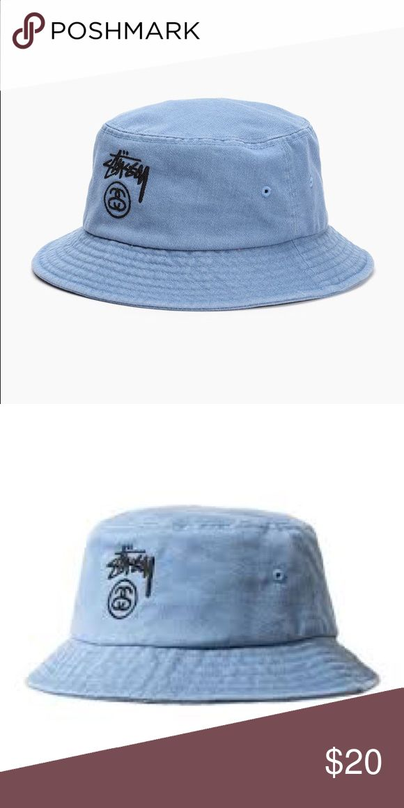 Stussy Bucket Hat Stussy bucket hat in blue. Perfect condition. Stussy Accessories Hats