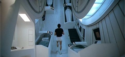 Interior of Discovery One from 2001