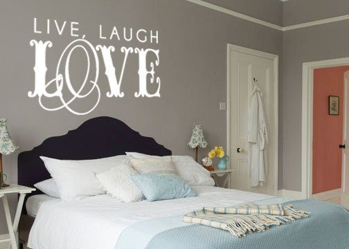 Live Laugh Love Quote Vinyl Wall Decal By Grabersgraphics