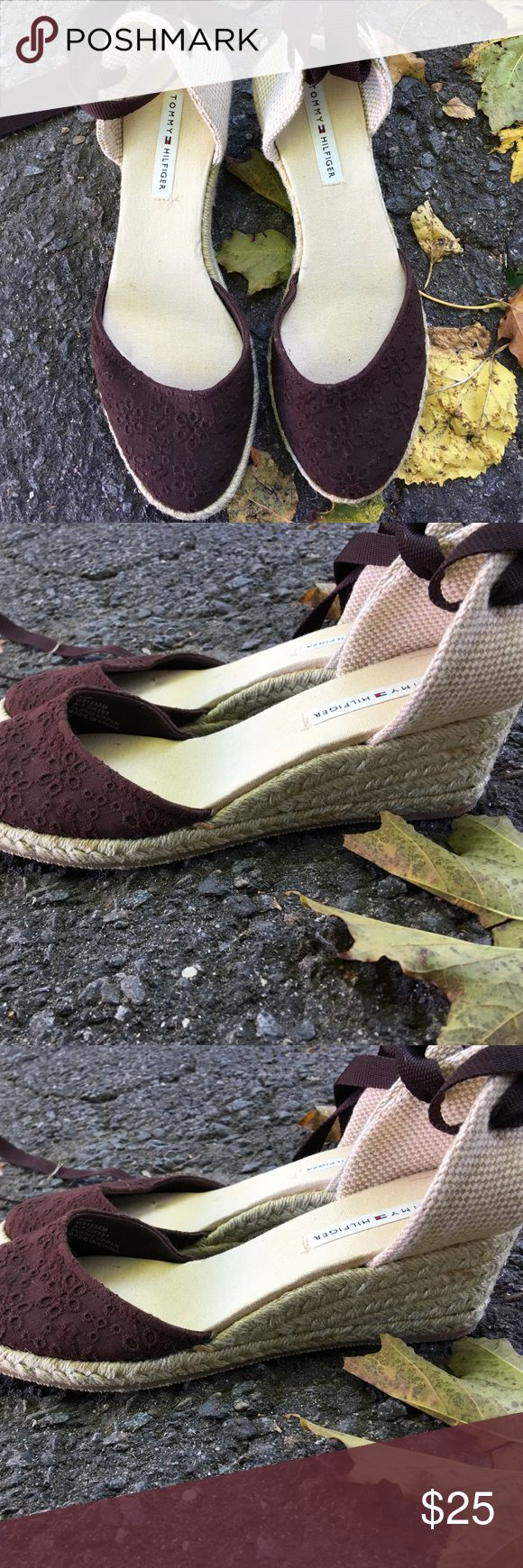 Women's Tommy Hilfiger Espadrilles Wedge heels. New without tags. List price or best offer. Tommy Hilfiger Shoes Espadrilles