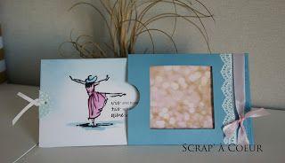 Scrap' à Coeur: Aquareller un motif avec les crayons aquarelles Stampin Up!©
