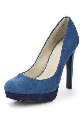 Autograph Suede Platform Court Shoes with Insolia® #SpringColour