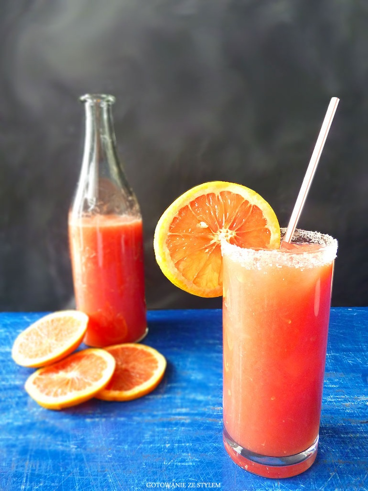 Grapefruit twist with coconut liqueur | Gotowanie ze stylem