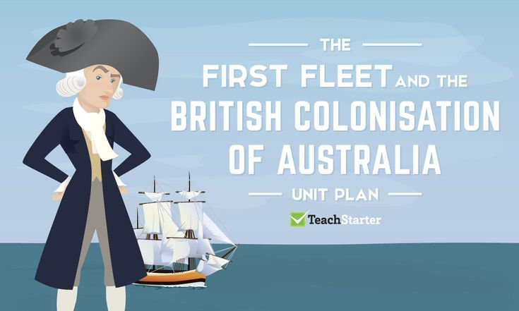 First Fleet and the British Colonisation of Australia - unit plan and resources | TeachStarter