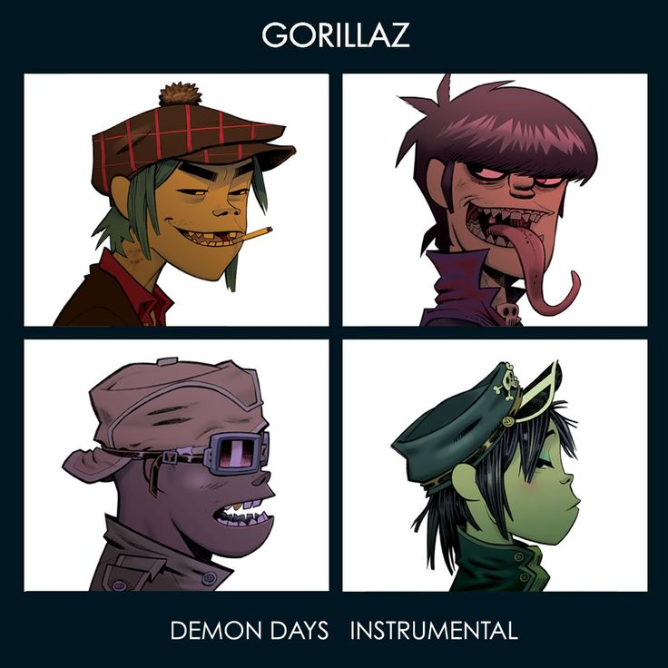 Demon Days - Instrumental Album Art