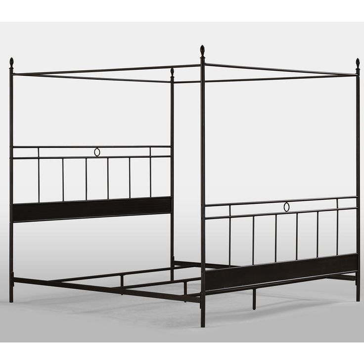 Cara King Metal Canopy Bed | Overstock™ Shopping - Great Deals on Beds  sc 1 st  Pinterest & 145 best Bed images on Pinterest | Bedrooms Bedroom suites and ...