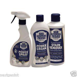 BAR KEEPERS FRIEND POWERFULL MULTI-PURPOSE CLEANERS - Powder / Cream / Spray | eBay