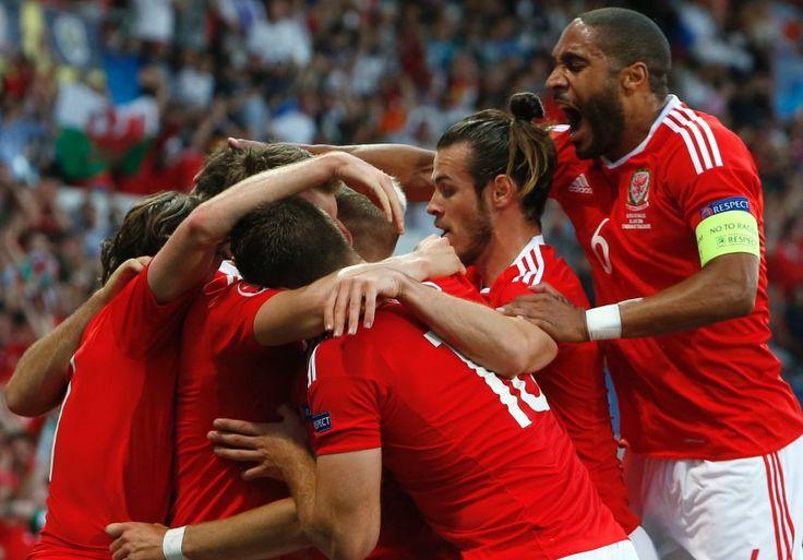 EM Vorrunde- Wales wird Gruppenerster- Wales - Rußland 3:0