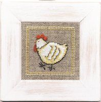 Lanarte Animals Collection Little Chicken Counted by DebiCreations, $7.99