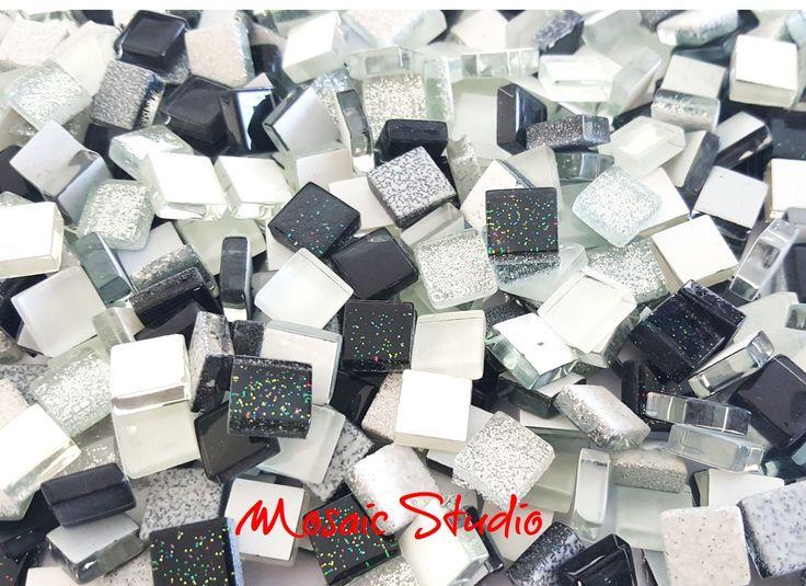 Mini Crystal Tiles 10x10mm - Galaxy mix 400pc by MosaicStudio1 on Etsy
