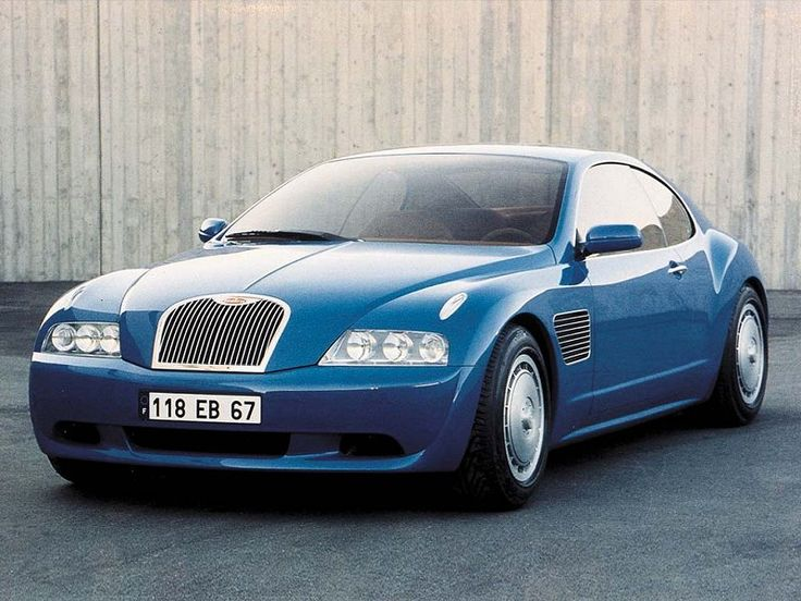 1999 Bugatti EB 218 Concept