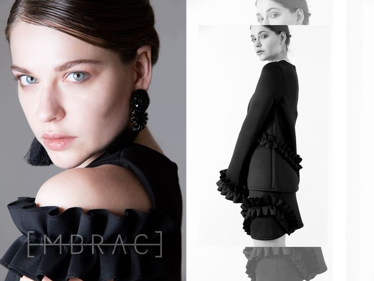 EMBRACE BRAND is an emerging contemporary fashion brand.The brand speaks to women with a strong personal identity and an eclectic and innate style.