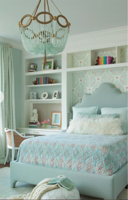 Ryland Witt Interior Design - Love the colors of this bedroom!