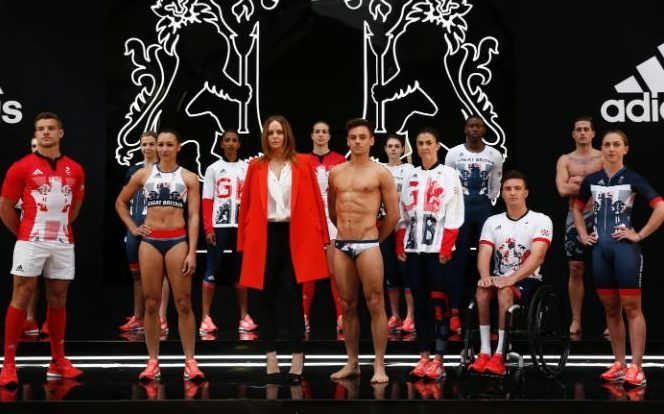 Team GB Kit Revealed For Rio 2016